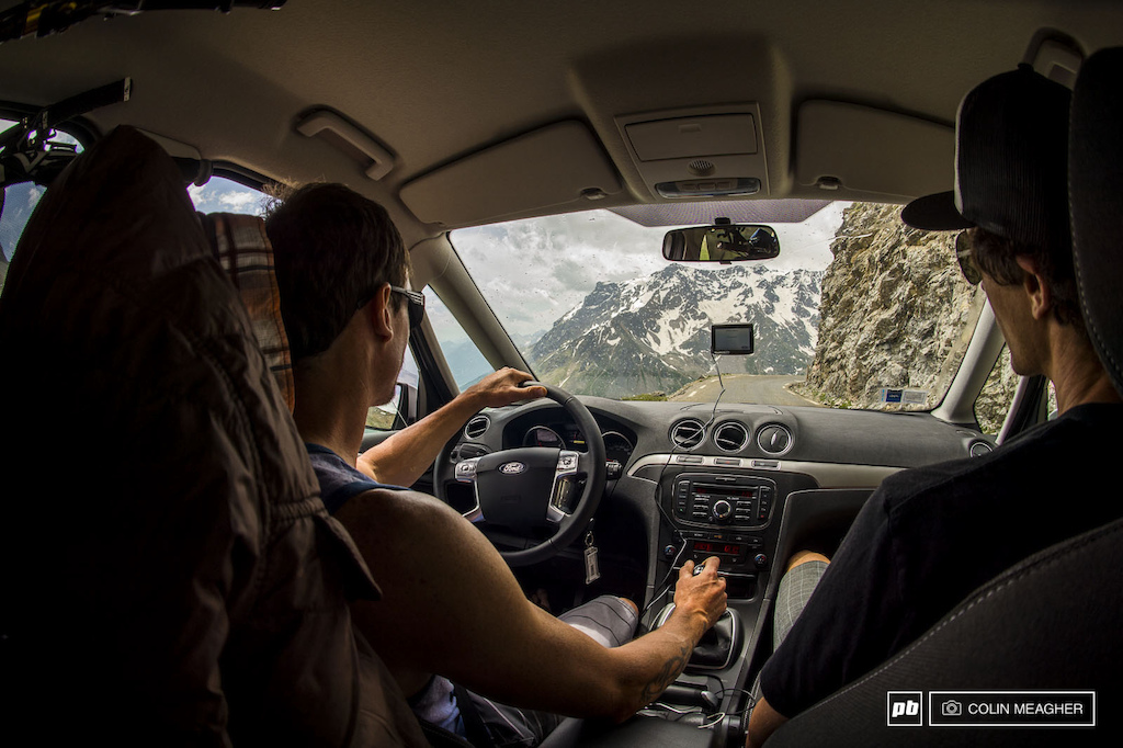 """When selecting a European rental vehicle, it's important to balance cargo capacity, economy and handling. Lars' Ford Galaxy (six-speed) was absolutely dialed for a casual Monday drive over the Col du Galibier from Savoie south through the Alpes du Haute Provence.""  - Adam Craig"